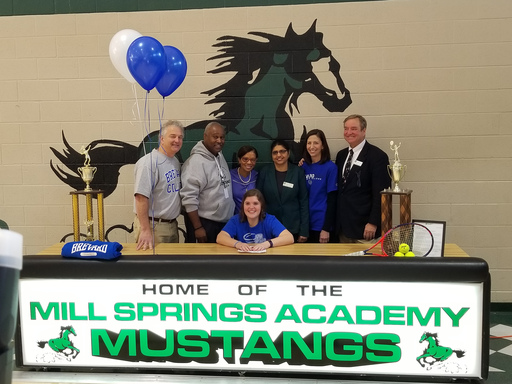 Mill Springs Academy Holds Signing Ceremony