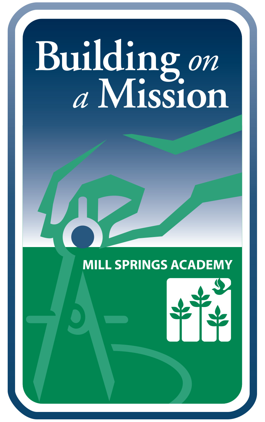 Building on a Mission Capital Campaign logo